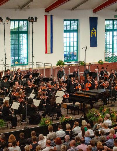 Während des Konzerts
