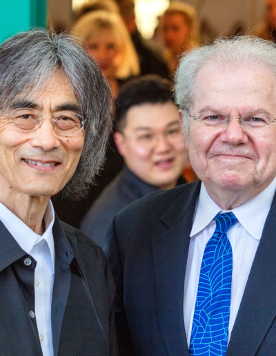 Kent Nagano und Emanuel Ax